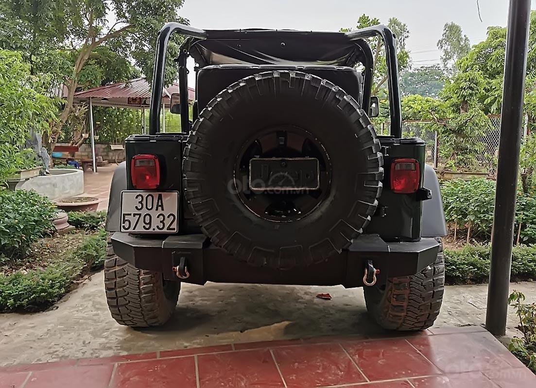 Bán Jeep Wrangler sản xuất 2008, màu xanh lam, xe nhập (2)