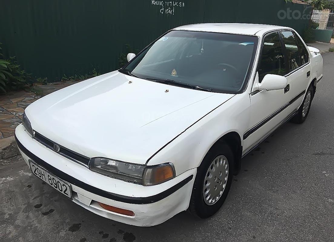 Bán xe Honda Accord Ex đời 1992, màu trắng, nhập khẩu như mới-2
