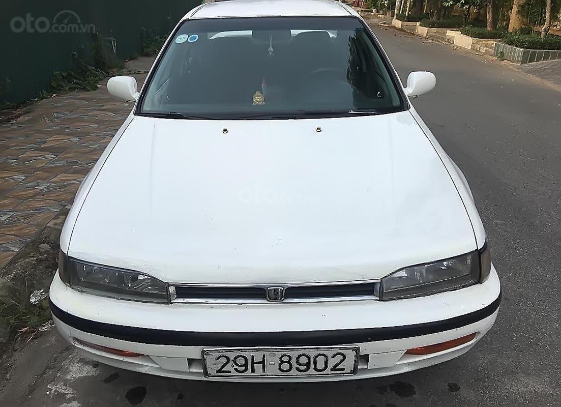 Bán xe Honda Accord Ex đời 1992, màu trắng, nhập khẩu như mới-0