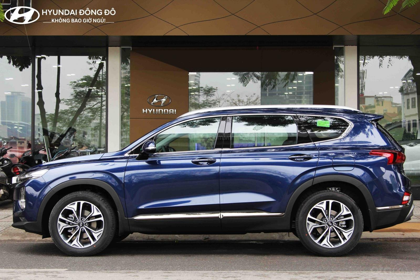 Bán Hyundai Santa Fe xăng đặc biệt 2019, trả góp lãi suất ưu đãi, LH 0976543958 (2)