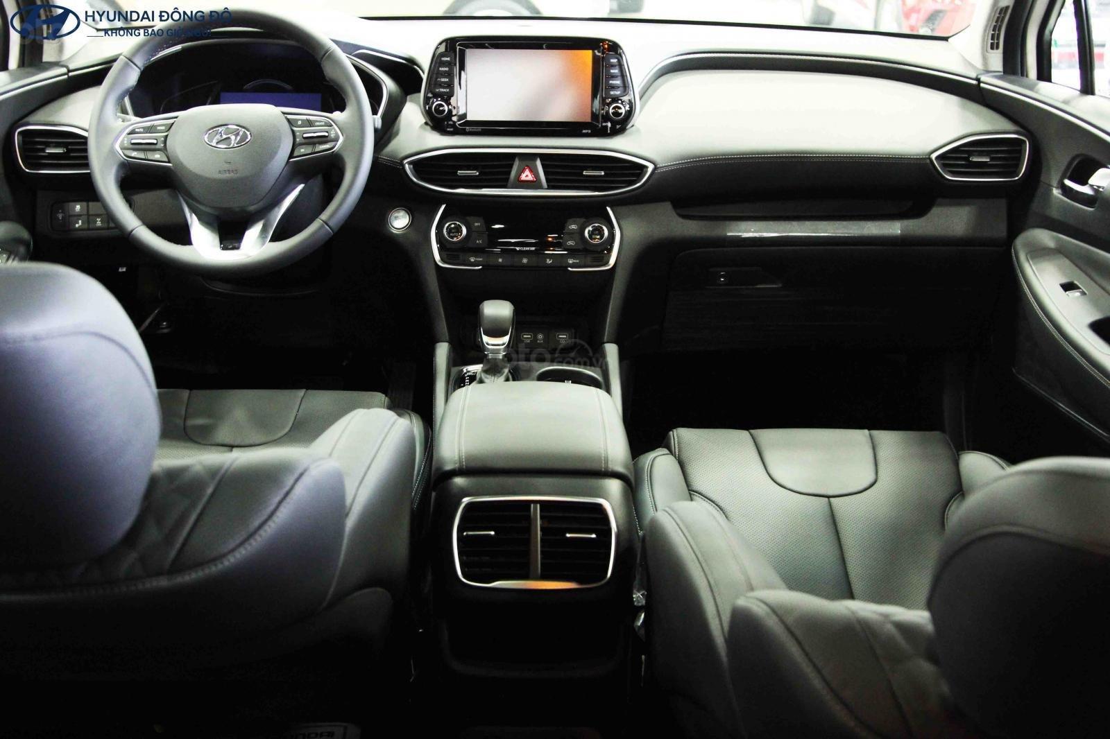 Bán Hyundai Santa Fe xăng đặc biệt 2019, trả góp lãi suất ưu đãi, LH 0976543958 (4)