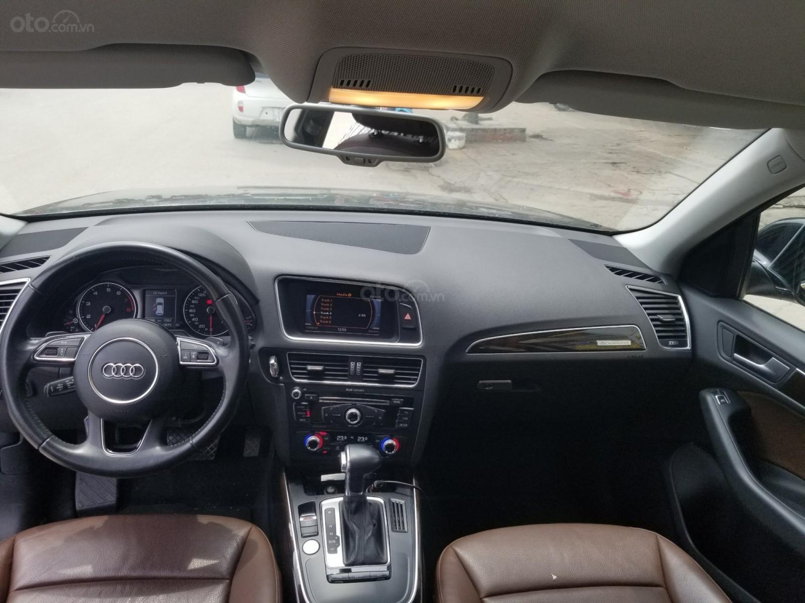 Bán Audi Q5 SX 2014, màu đen, một chủ sử dụng (3)