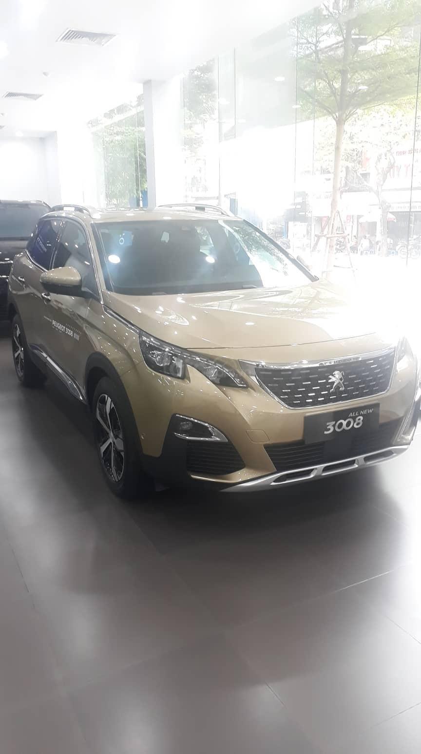 Bán xe Peugeot 3008 All New đời 2019, màu vàng-3
