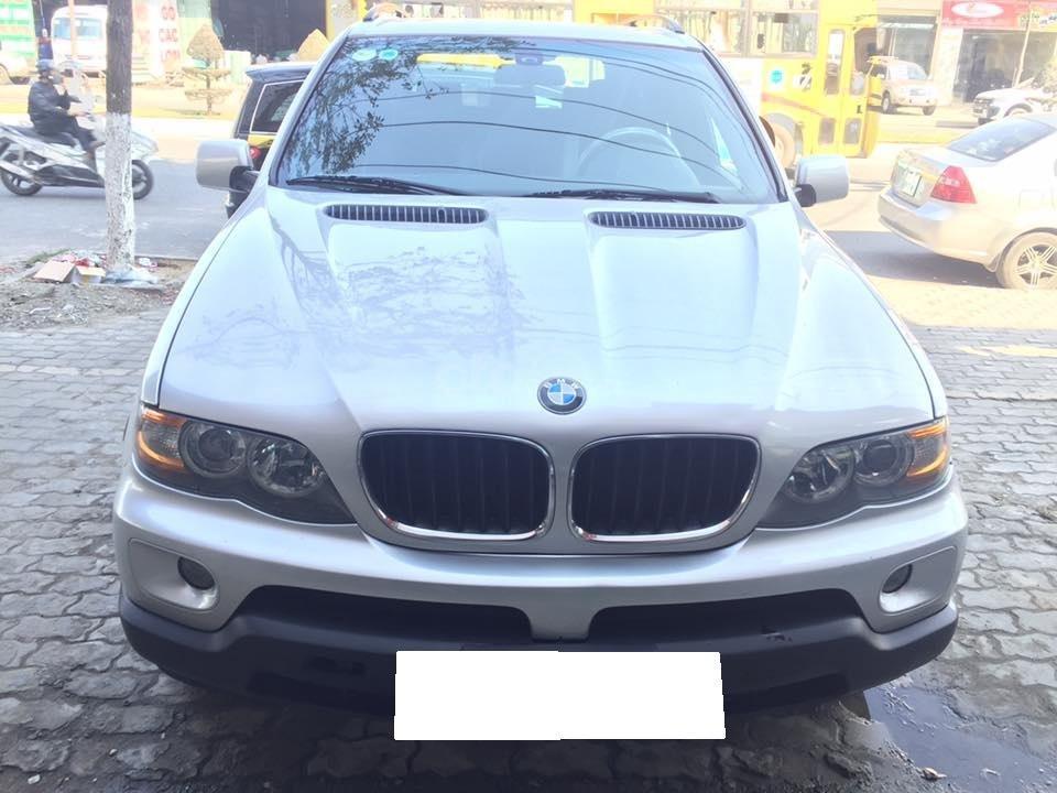 Cần tiền bán siêu phẩm BMW X5, sx 2004, ĐK 2007, màu bạc (7)