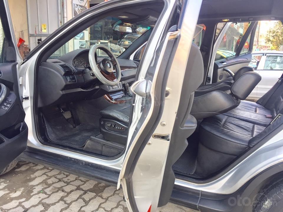Cần tiền bán siêu phẩm BMW X5, sx 2004, ĐK 2007, màu bạc (4)
