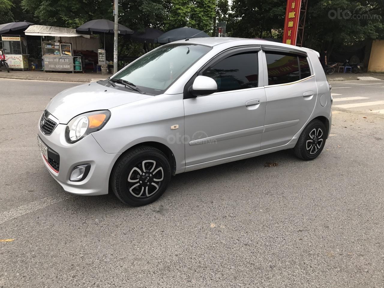 Cần bán xe Kia Morning SLX 2008, màu bạc, nhập khẩu, form mới, chính chủ-1