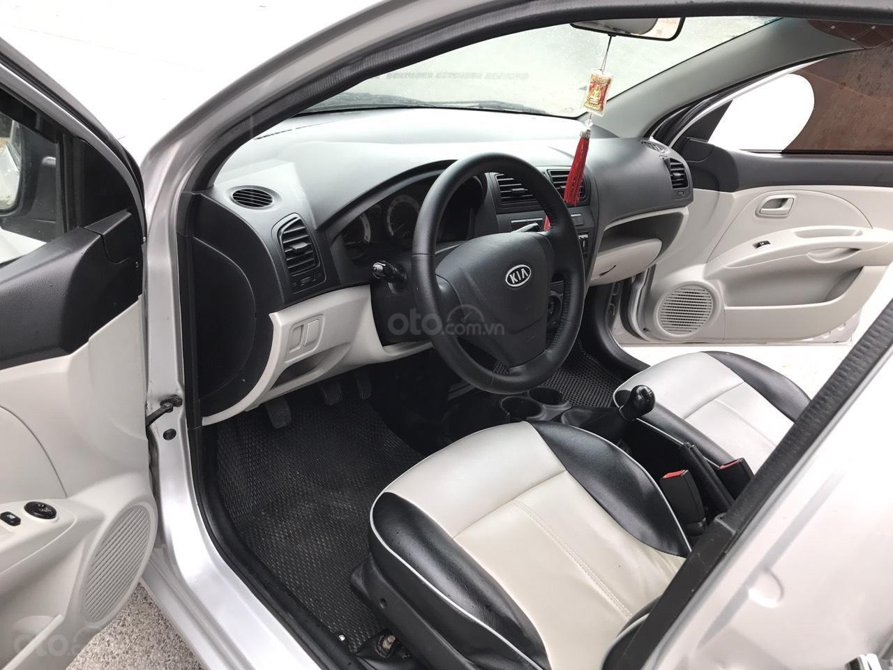 Cần bán xe Kia Morning SLX 2008, màu bạc, nhập khẩu, form mới, chính chủ-3