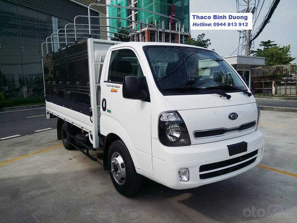 Động cơ Hyundai trên xe tải KIA K250, tải trọng 2,5 tấn, lưu thông thành phố. Xe tại Bình Dương. LH: 0944 813 912 (2)