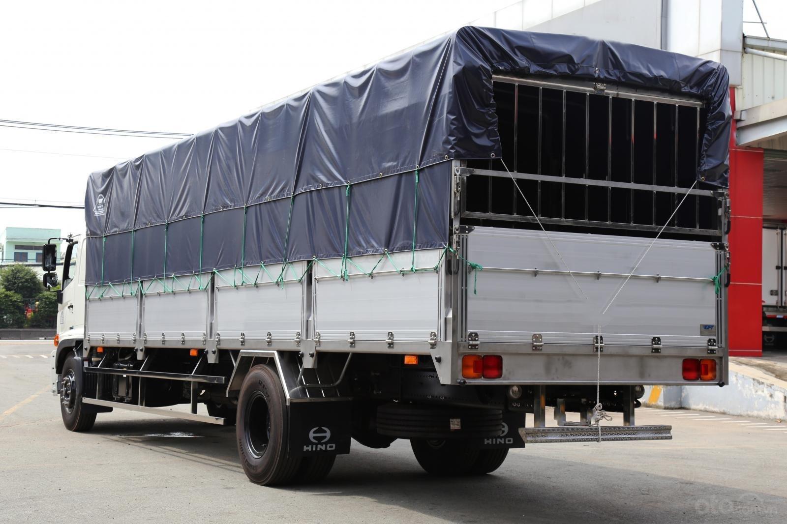 Bán xe tải Hino 2019 8 tấn thùng mui bạt 8.7m-1