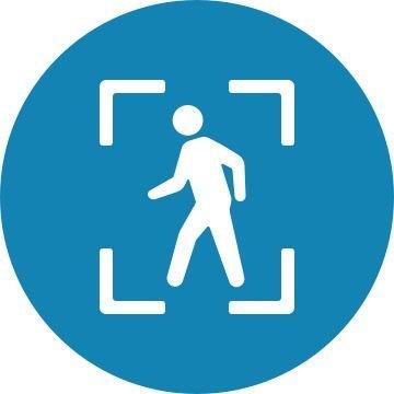 Xác định người đi bộ.