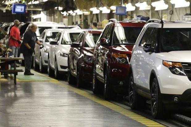 Ford Explorer sản xuất tại nhà máy Chicago ảnh hưởng nhiều từ vụ triệu hồi