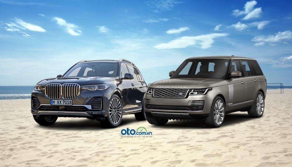So sánh BMW X7 2019 và Land Rover Range Rover 2019....