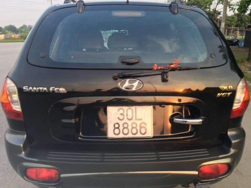 Bán Hyundai Santa Fe năm 2003, màu đen, nhập khẩu-1