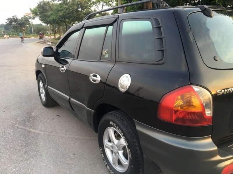 Bán Hyundai Santa Fe năm 2003, màu đen, nhập khẩu-2