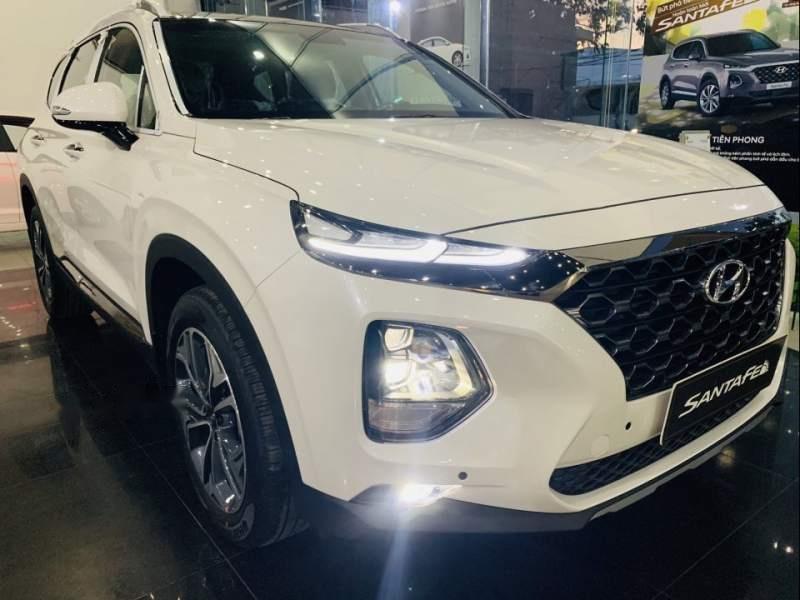 Bán Hyundai Santa Fe đời 2019, màu trắng, xe nhập-0