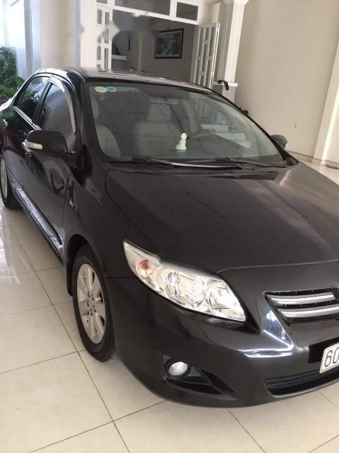 Bán xe Toyota Corolla altis năm 2010, màu đen, nhập khẩu (1)