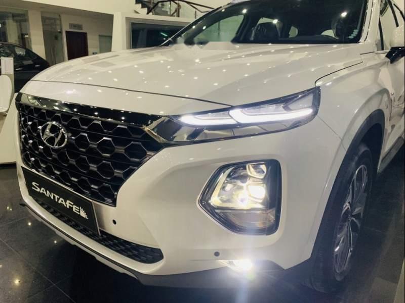 Bán Hyundai Santa Fe đời 2019, màu trắng, xe nhập-3
