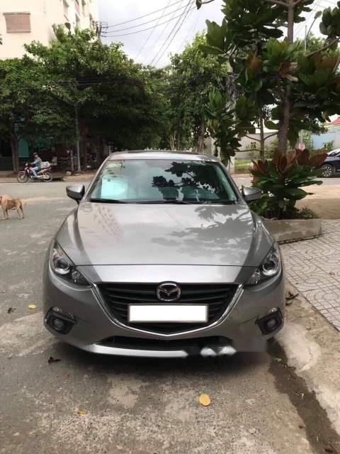 Bán Mazda 3 đời 2016, màu xám như mới (2)