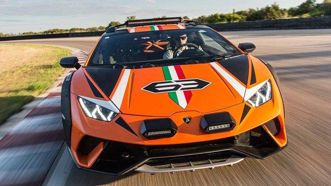 Lamborghini Huracan Sterrato sẽ được sản xuất đại trà với tư cách siêu xe địa hình a2