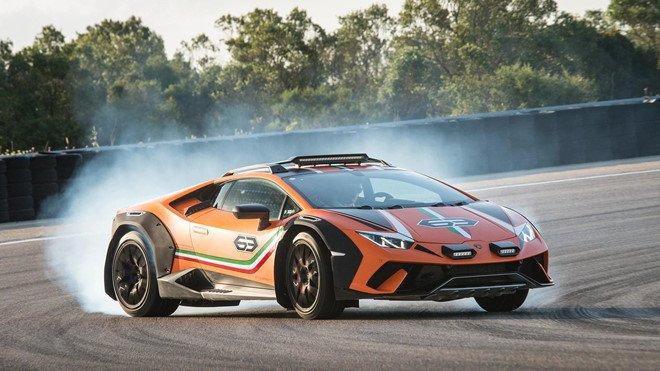 Lamborghini Huracan Sterrato sẽ được sản xuất đại trà với tư cách siêu xe địa hình 1