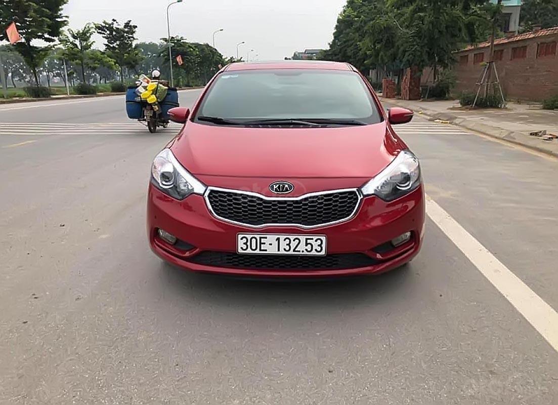 Bán Kia K3 2.0 AT sản xuất năm 2016, màu đỏ chính chủ (2)