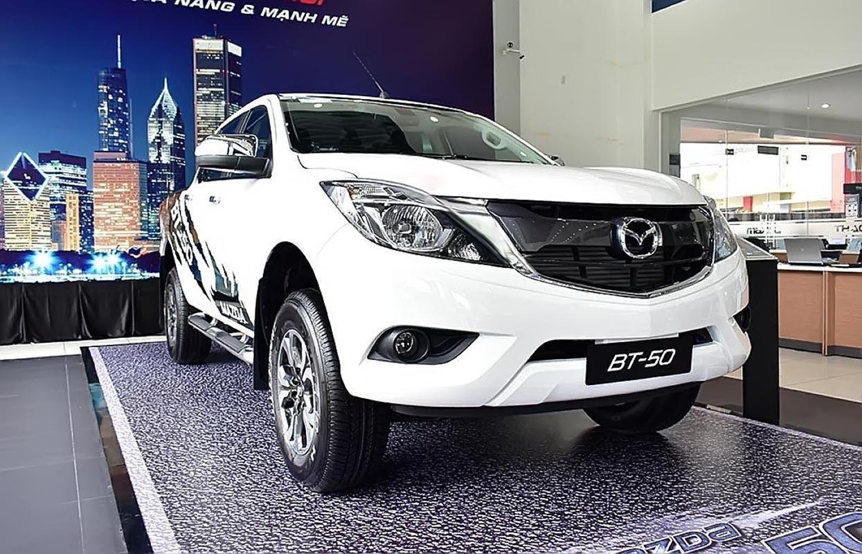 Cần bán xe Mazda BT 50 2.2L 4x4 MT năm 2019, màu trắng, nhập khẩu -0