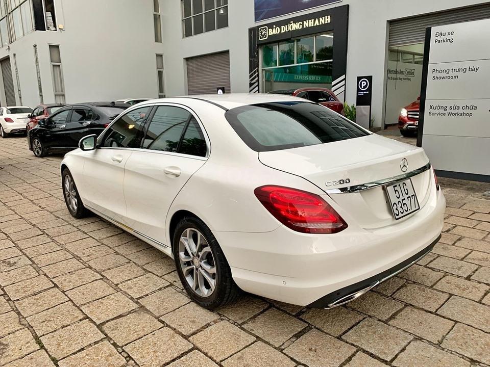 Bán xe Mercedes C200 trắng 2017 cũ chính hãng giá tốt. Trả trước 450 triệu nhận xe ngay-7
