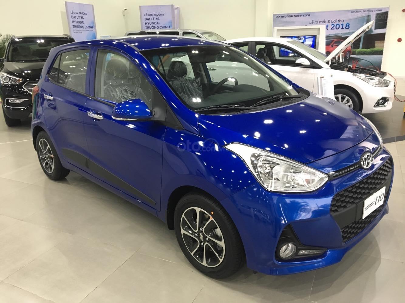 Hyundai I10 2019 khuyến mãi khủng TM, tặng nhiều PK, xe đủ màu giao ngay-0