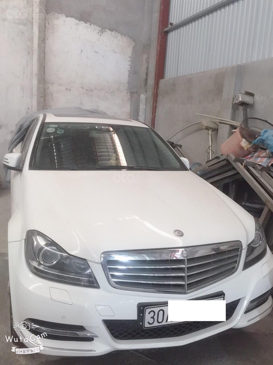 Bán Mercedes C250 1.8 AT đời 2014, màu trắng chính chủ-1