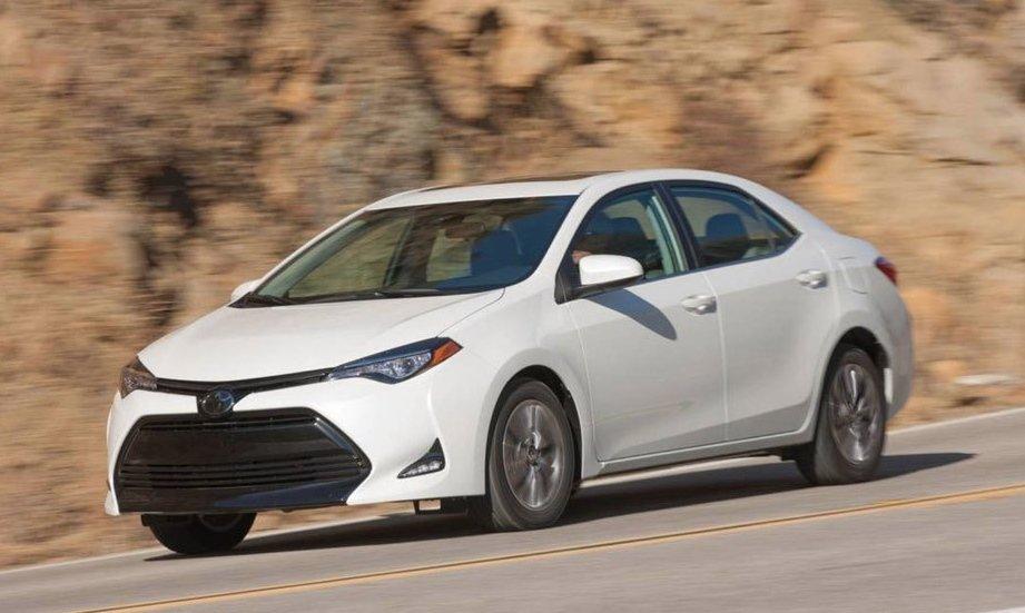 Toyota Corolla là mẫu xe bán chạy nhất toàn cầu năm 2018.