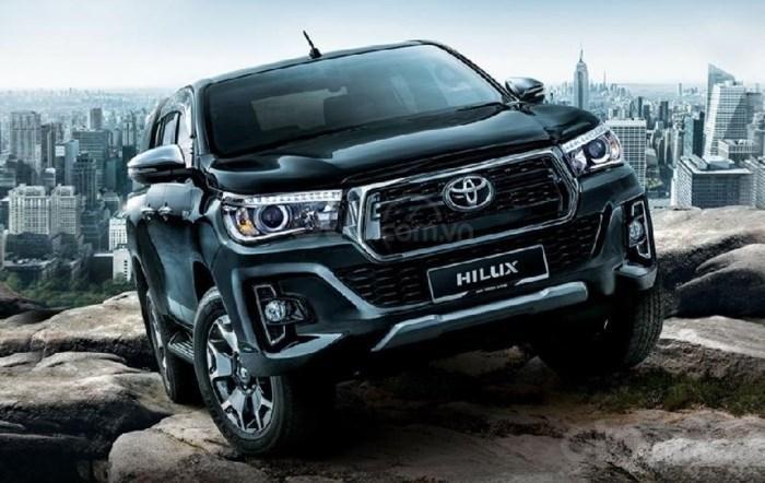 Thông số kỹ thuật xe Toyota Hilux 2019 tại Việt Nam 3a