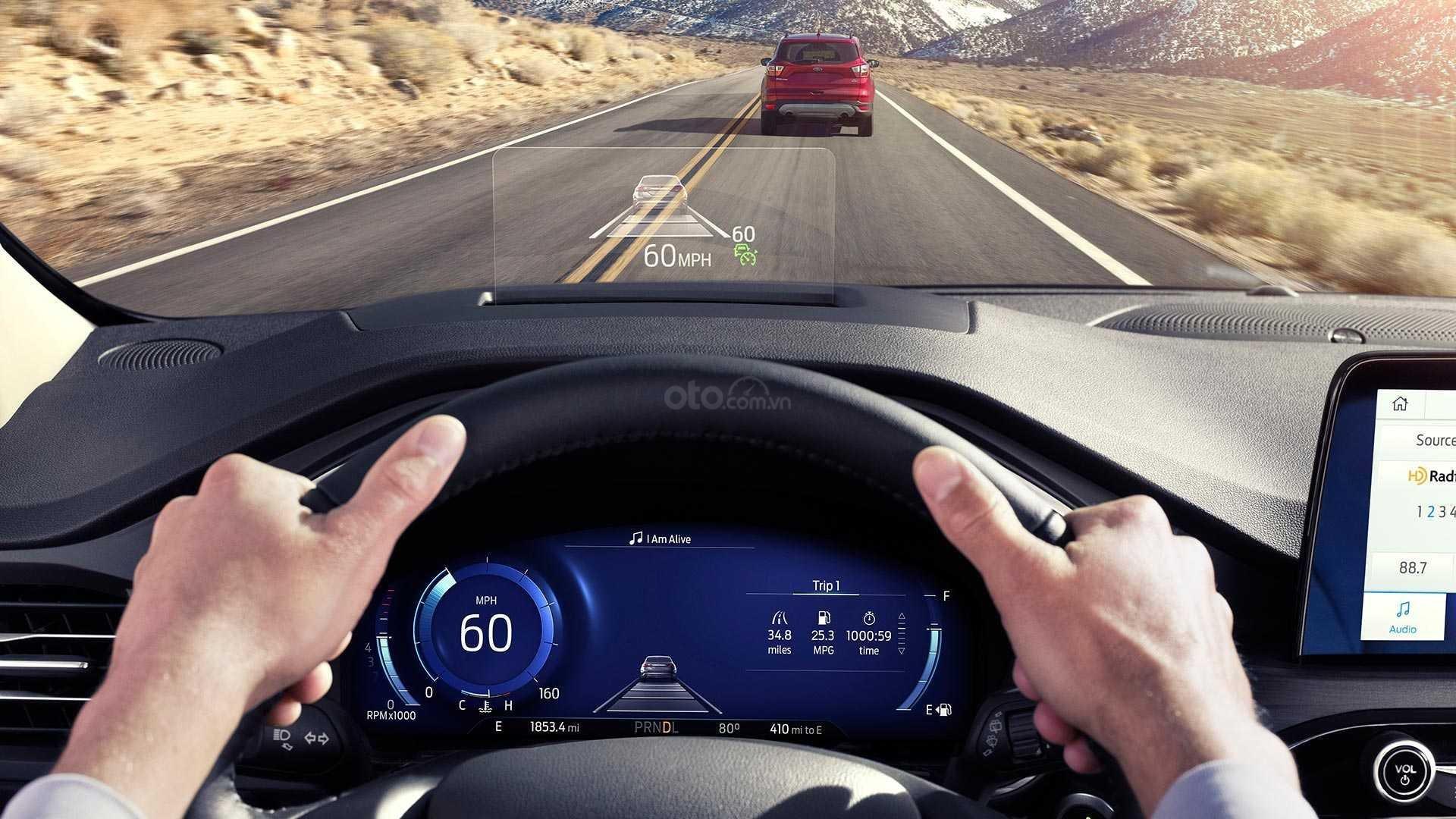 Màn hình HUD Nội thất xe Ford Escape 2020