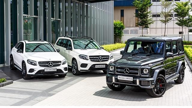 Doanh số xe tháng 5/2019 của Mercedes-Benz được lợi bởi nhu cầu SUV
