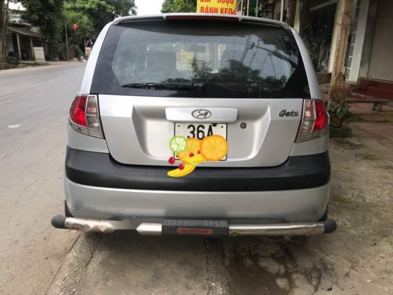Bán xe Hyundai Getz năm sản xuất 2010, màu bạc, xe nhập-4