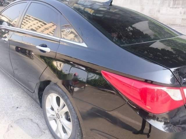 Bán Hyundai Sonata đời 2009, màu đen, xe nhập, 500tr-2