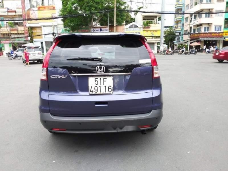 Bán Honda CR V 2014, màu xanh lam, nhập khẩu-2