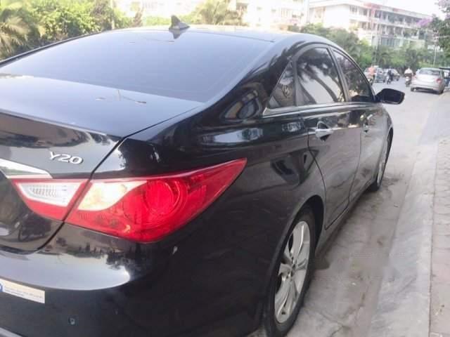 Bán Hyundai Sonata đời 2009, màu đen, xe nhập, 500tr-0