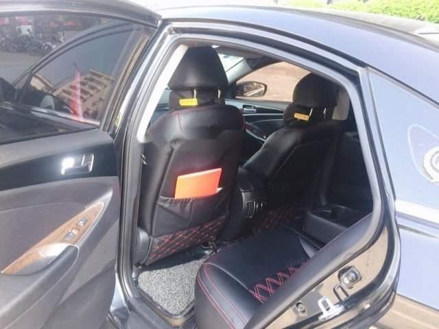 Bán Hyundai Sonata đời 2009, màu đen, xe nhập, 500tr-3