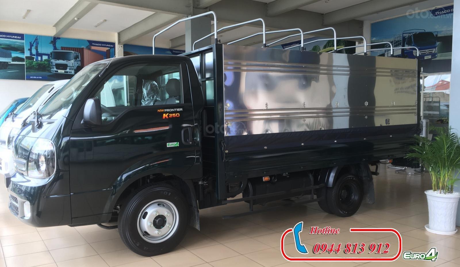 Bán Kia K250 động cơ Hyundai tải trọng 2.49 tấn, giá tốt tại Bình Dương, có hỗ trợ trả góp - LH: 0944.813.912 (1)
