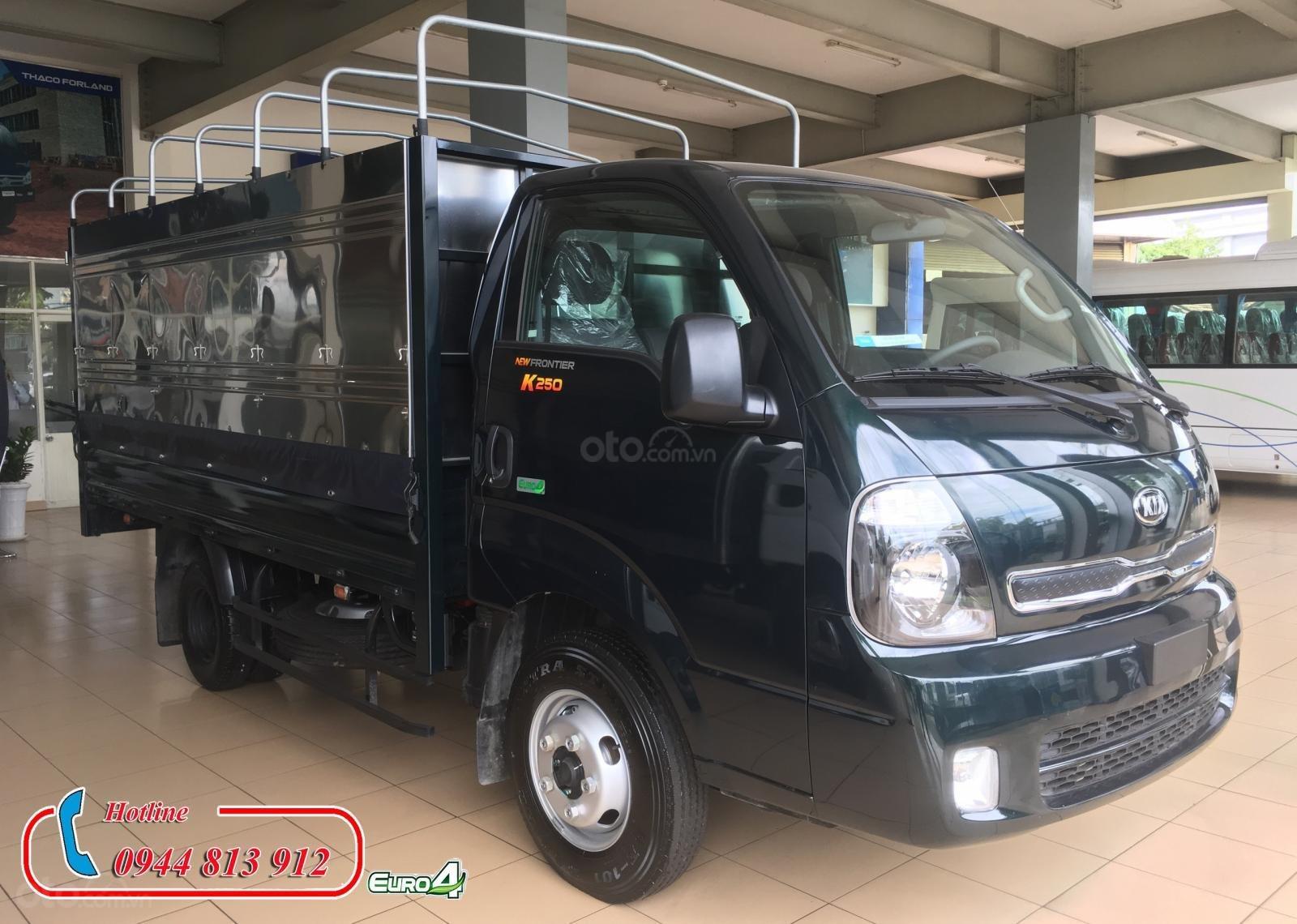 Bán Kia K250 động cơ Hyundai tải trọng 2.49 tấn, giá tốt tại Bình Dương, có hỗ trợ trả góp - LH: 0944.813.912 (2)