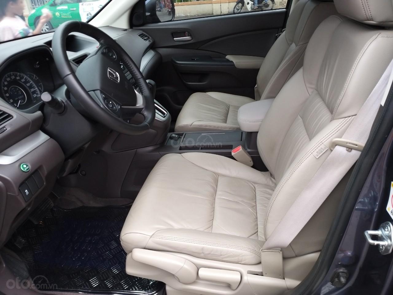 Honda CR V 2.0 AT model 2014, màu xanh, xe nhập cực mới, 700 triệu đồng-7
