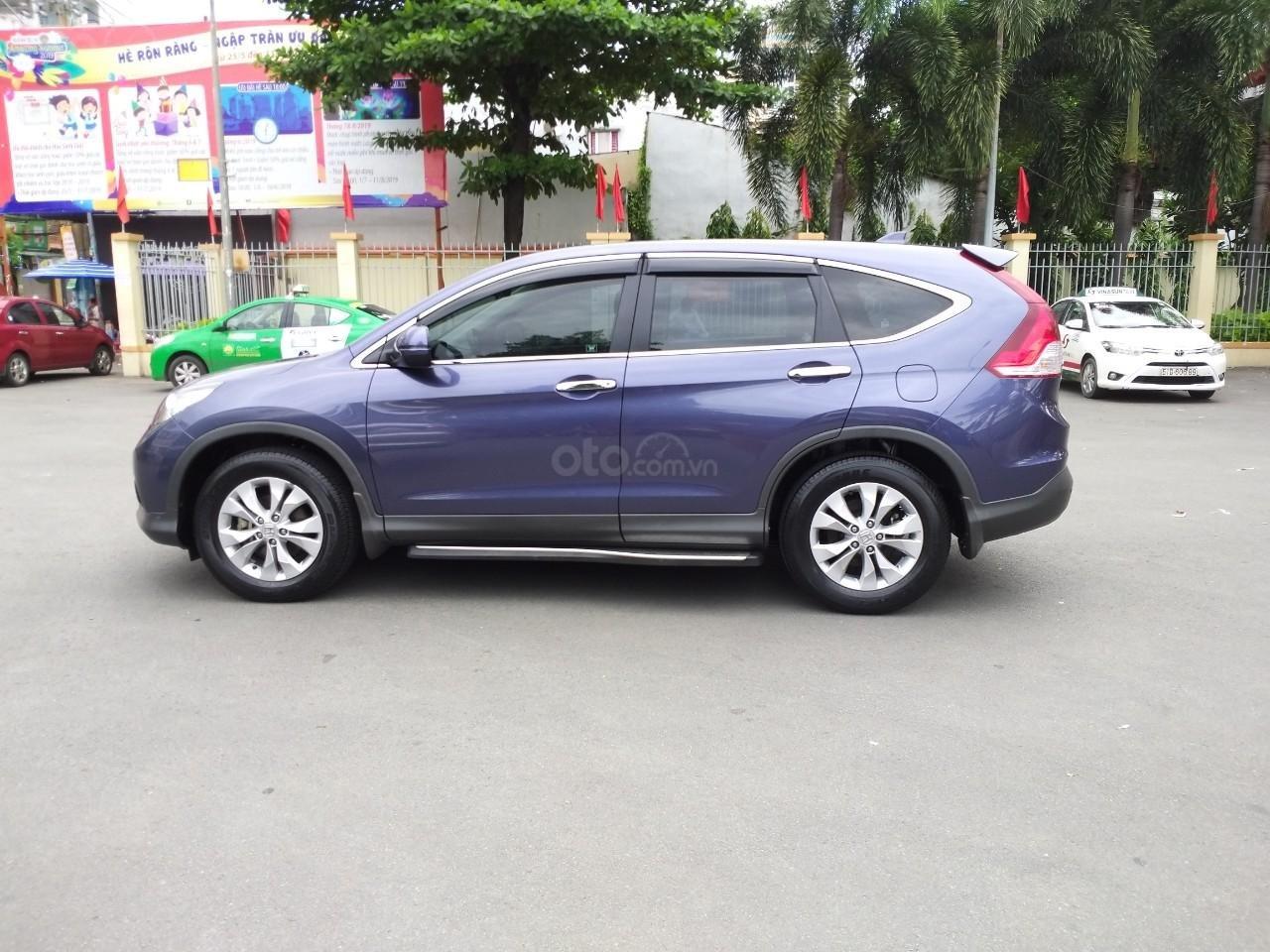 Honda CR V 2.0 AT model 2014, màu xanh, xe nhập cực mới, 700 triệu đồng-10