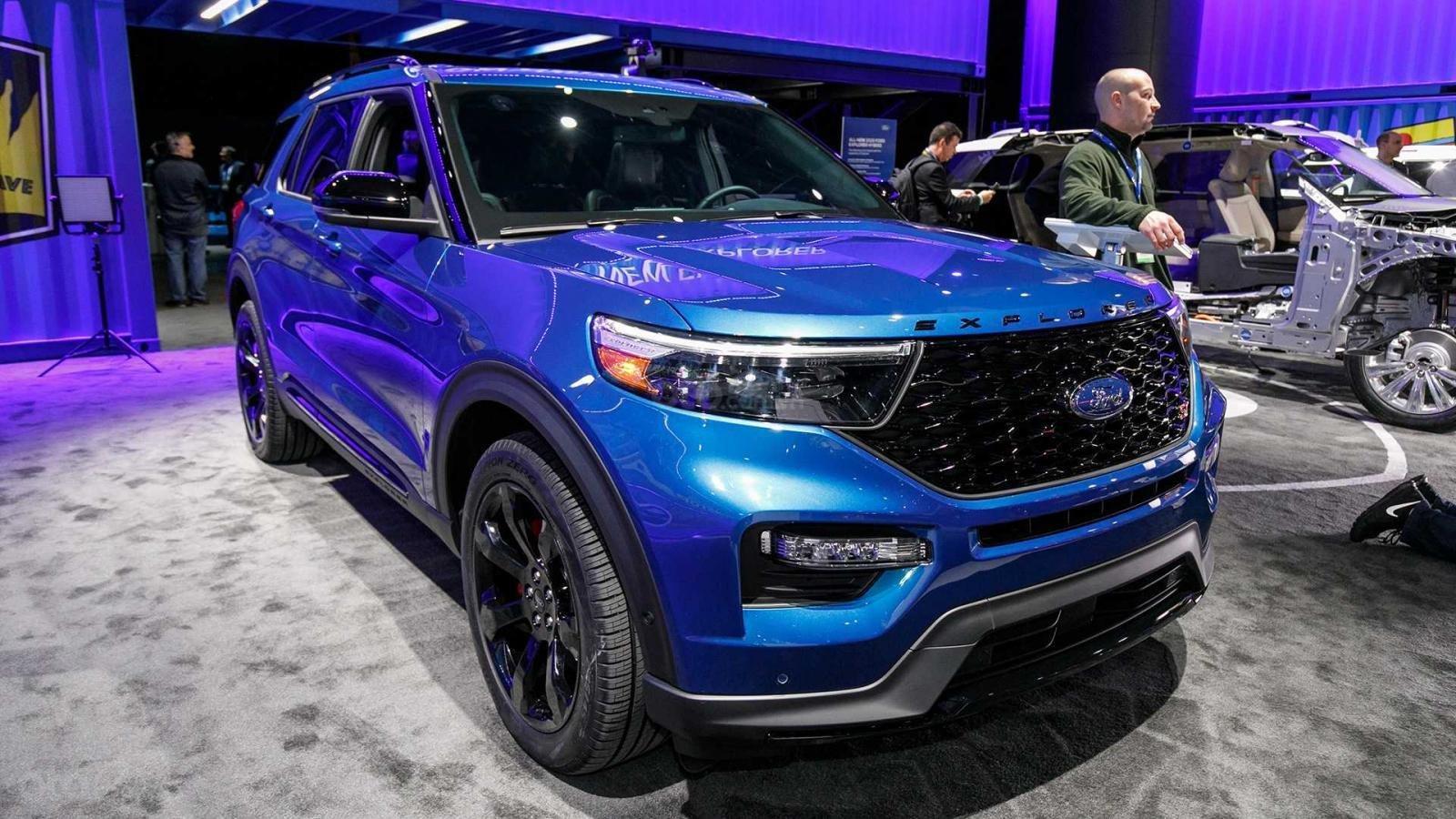 Ford Explorer 2020 ST sở hữu lốp Michelin được phát triển dành cho Mercedes