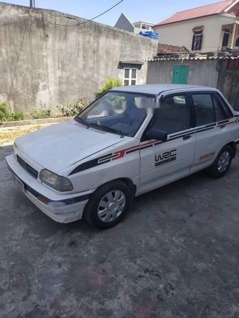 Bán Kia Pride đời 1992, màu trắng, xe nhập  (1)