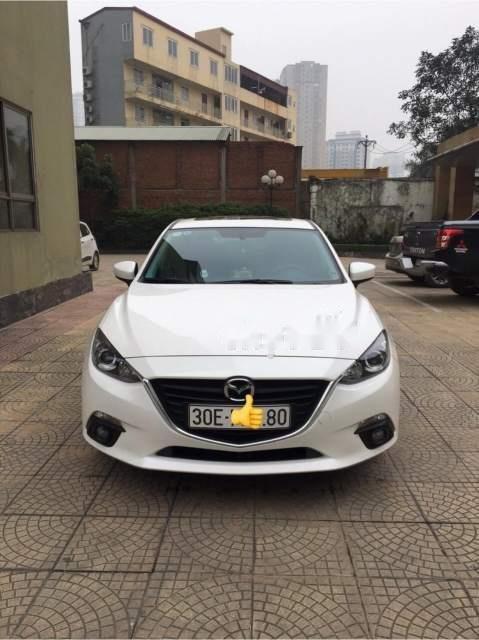Bán Mazda 3 1.5AT năm 2017, màu trắng như mới (1)