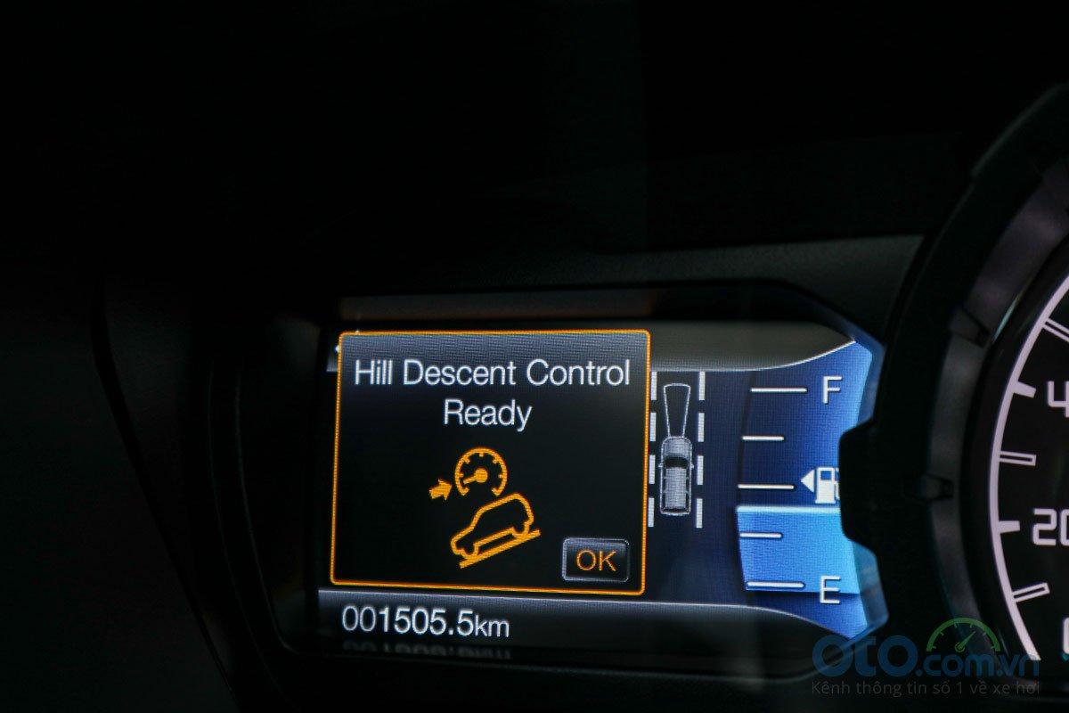 Đánh giá xe Ford Everest Titanium 2.0L Bi-Turbo 2019: Hệ thống hỗ trợ đổ đèo.