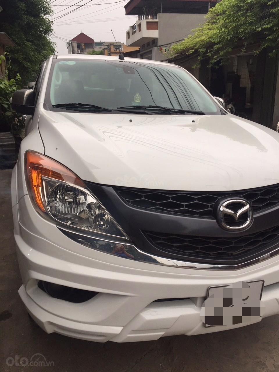Bán Mazda BT 50 sản xuất năm 2015, màu trắng -3