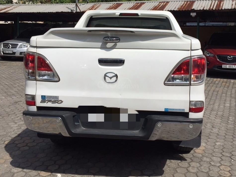 Bán Mazda BT 50 sản xuất năm 2015, màu trắng -2