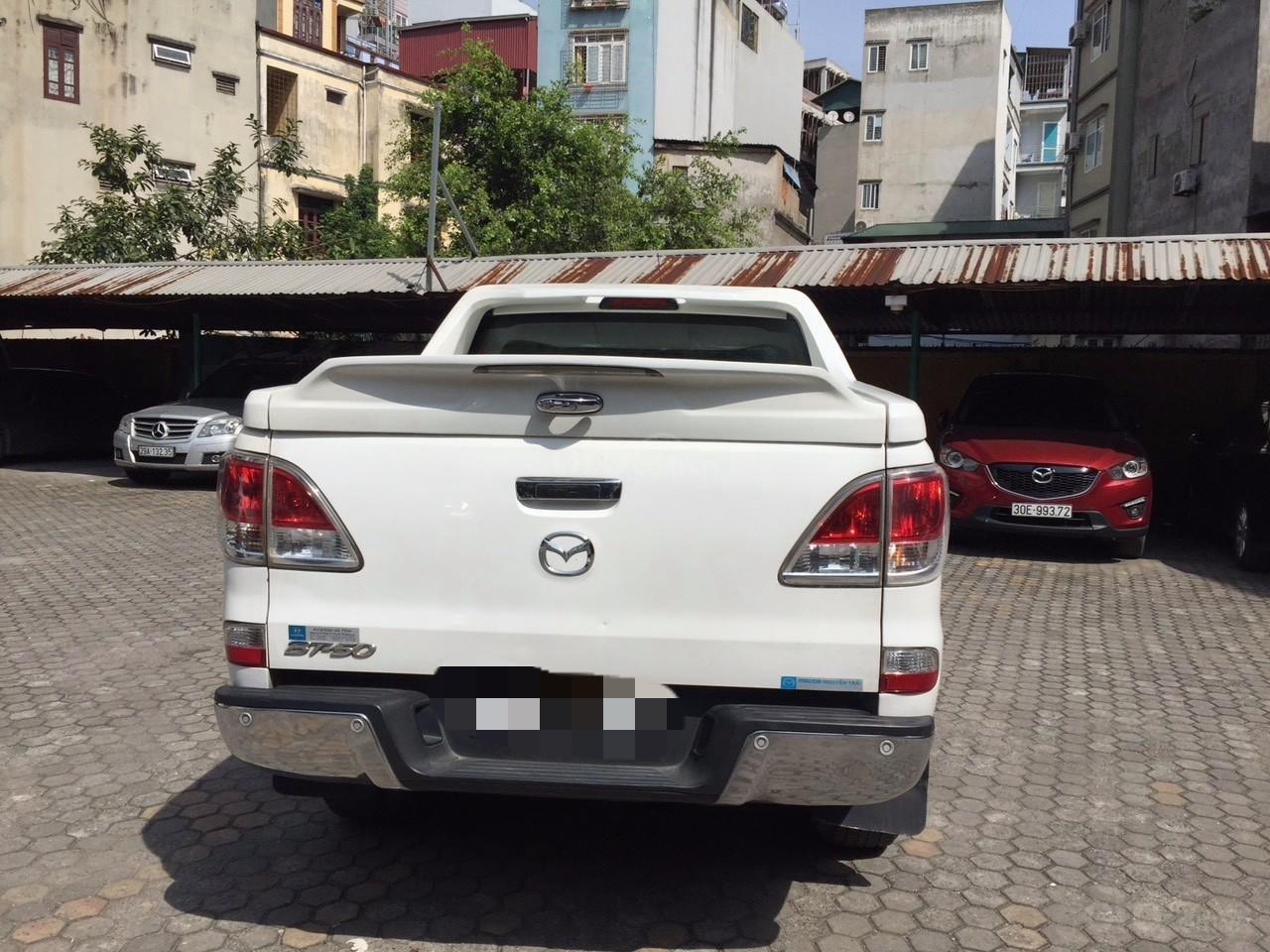 Bán Mazda BT 50 sản xuất năm 2015, màu trắng -5