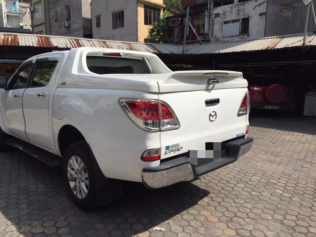 Bán Mazda BT 50 sản xuất năm 2015, màu trắng -6